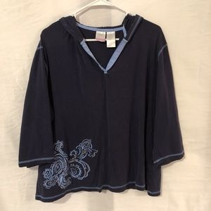 Just My Size Plus Size 22 24W Blouse